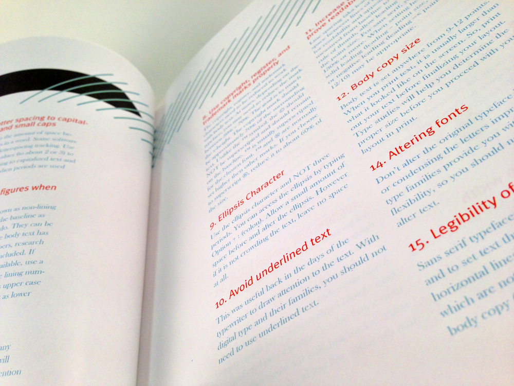 Typographic Handbook | Book Layout