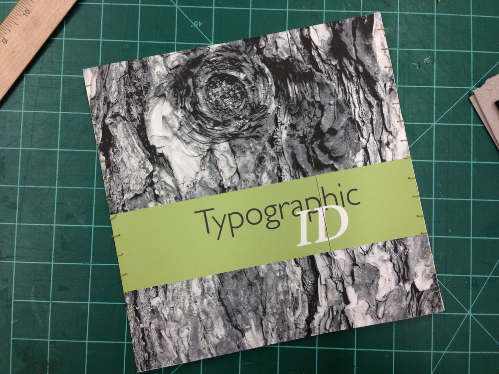 Typographic Identity | Booklet and Envelope