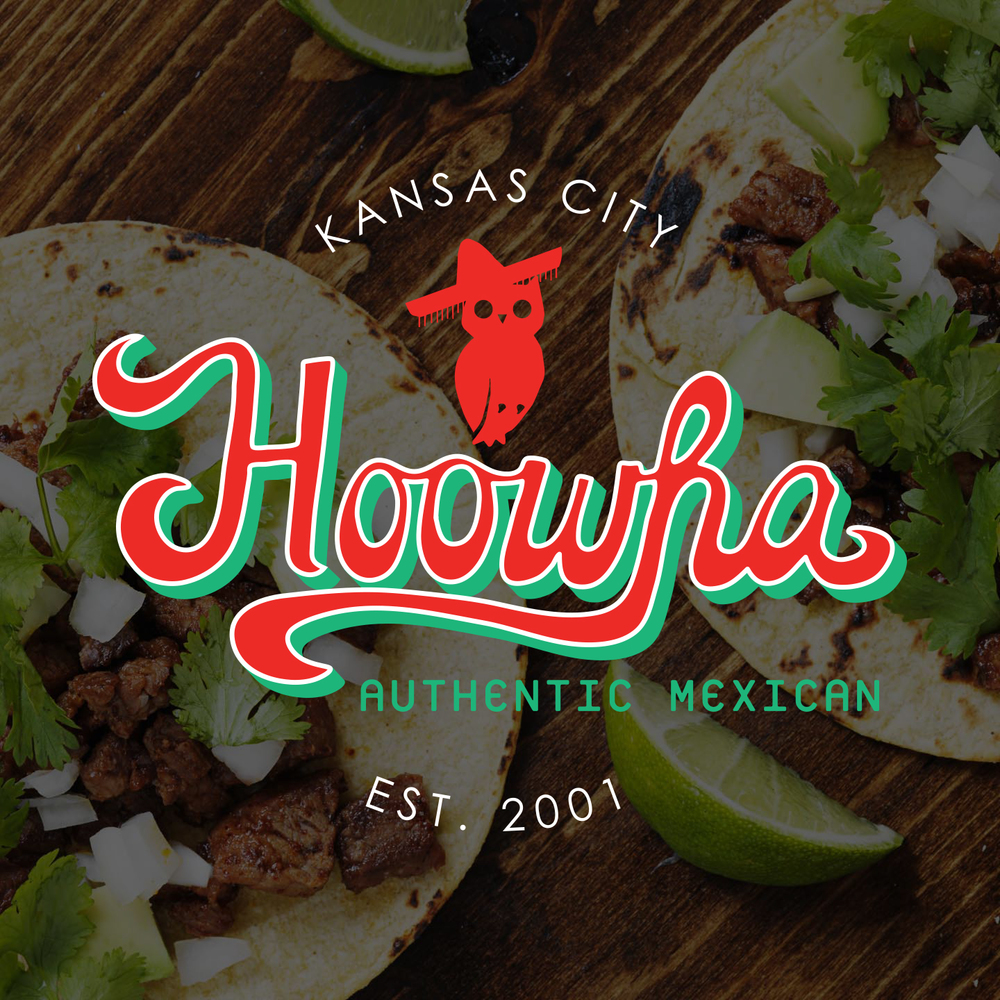 Hoowha Authentic Mexican | Restaurant Branding