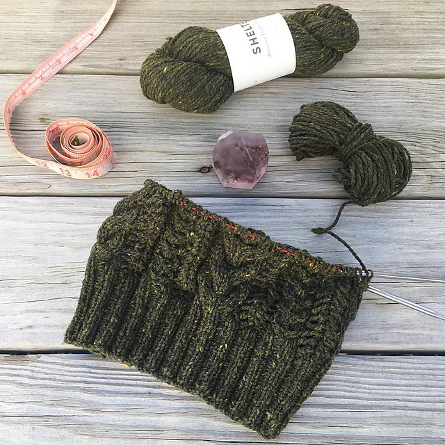 Quick Knit The Bray Cap Circle Of Stitches