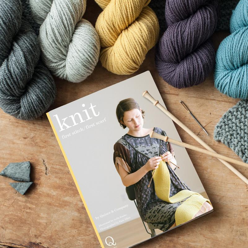 Learn to Knit Kit, comes with everything you need!