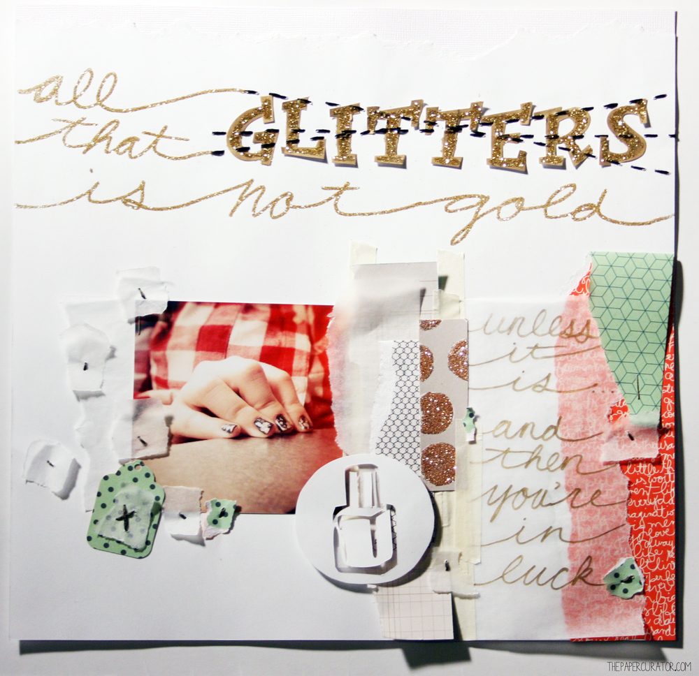 'ALL THAT GLITTERS' | THE PAPER CURATOR