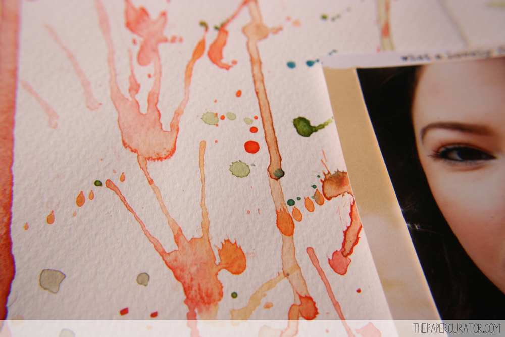 'LOVELY FALL DAY' WATERCOLOR BACKGROUND IMAGES | THE PAPER CURATOR
