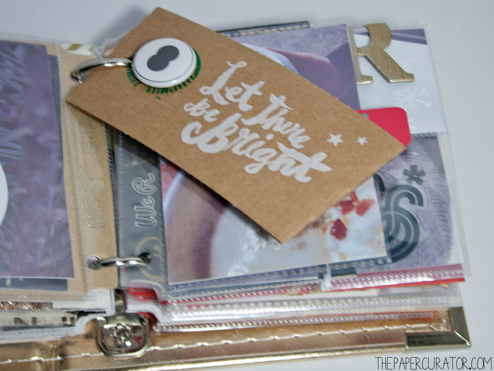 DECEMBER 8TH |   25 DAYS OF CHRISTMAS MINI ALBUM/ DECEMBER DAILY WEEK NO. 2 | THE PAPER CURATOR