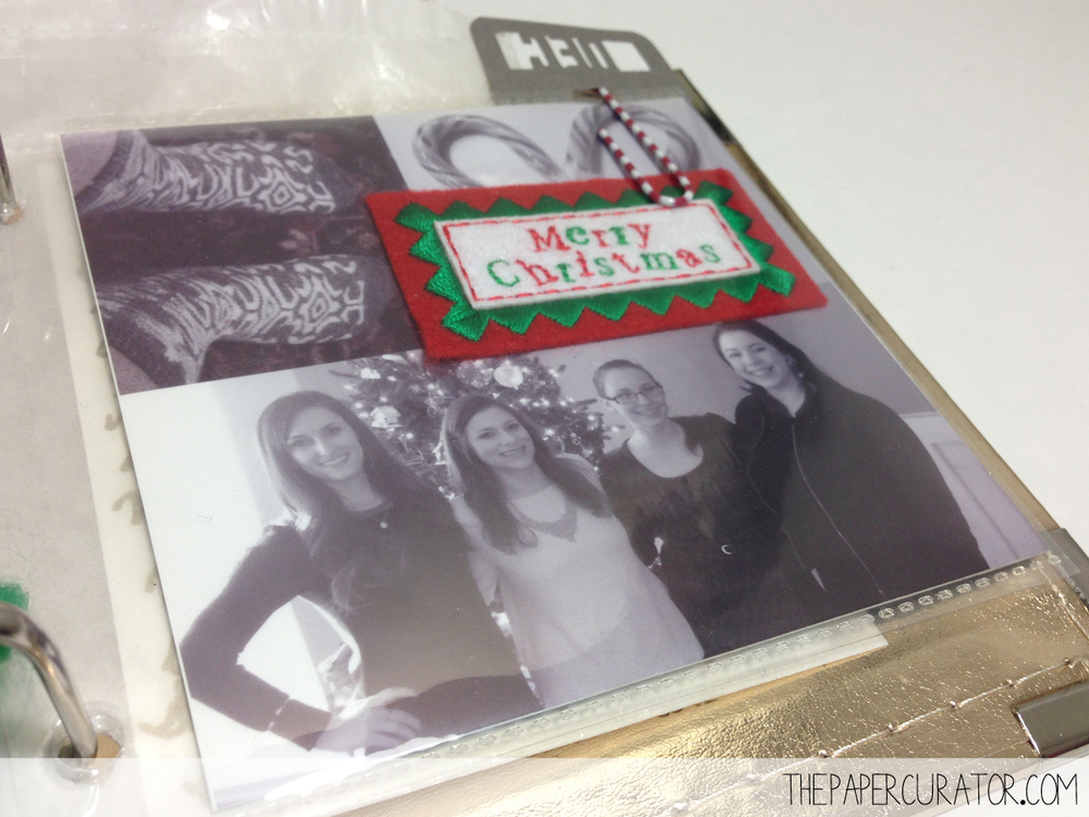 DECEMBER 25TH   |   25 DAYS OF CHRISTMAS MINI ALBUM/ DECEMBER DAILY WEEK NO. 4 | THE PAPER CURATOR