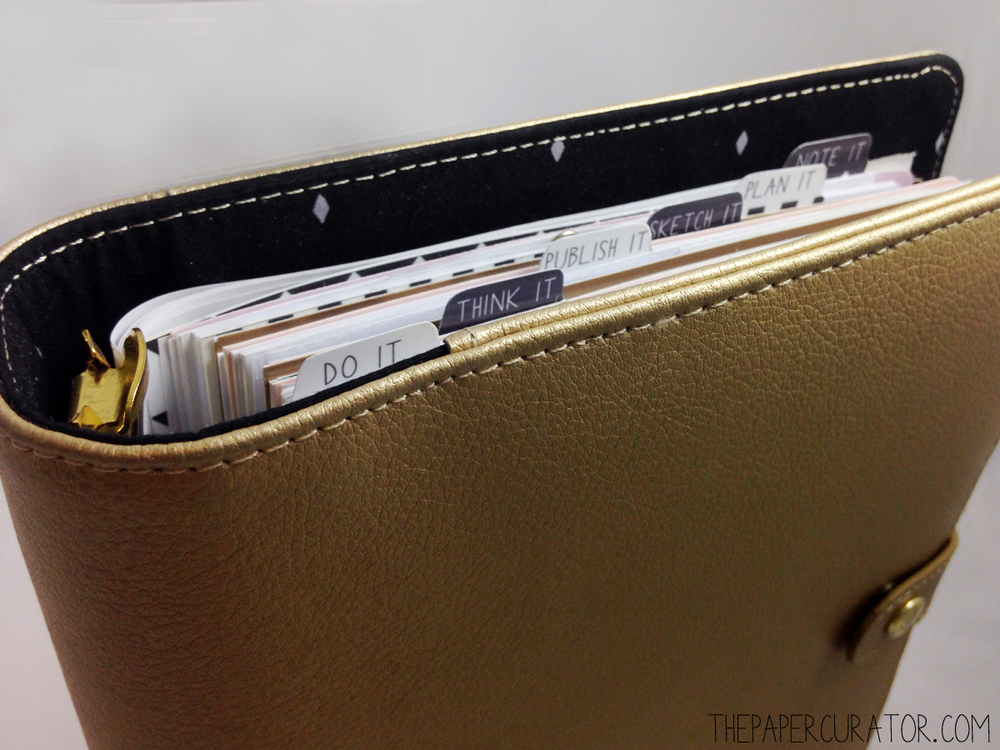 Customized Vertical Tab Dividers For Your Planner The Paper Curator