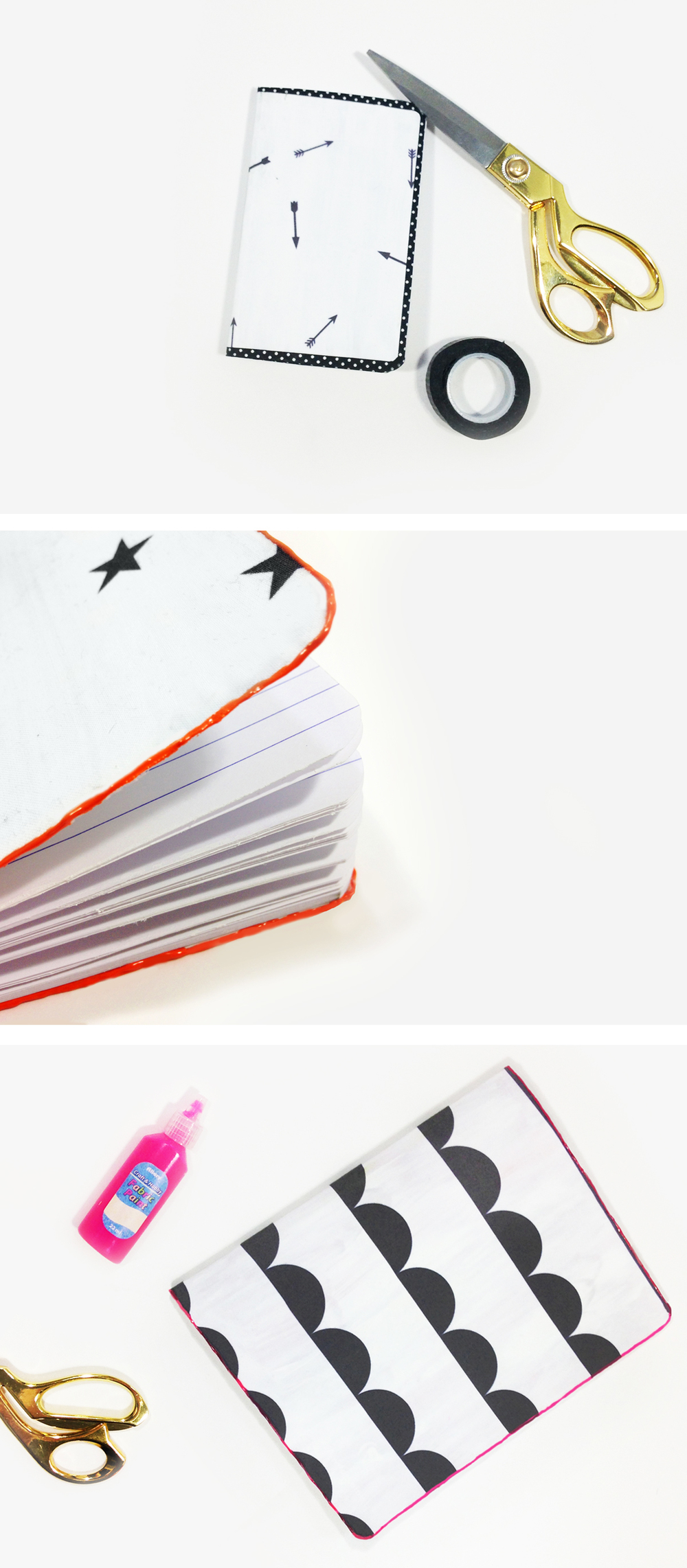 DIY PRINTED FABRIC COVERED NOTEBOOKS + A FREE TEMPLATE | THE PAPER CURATOR