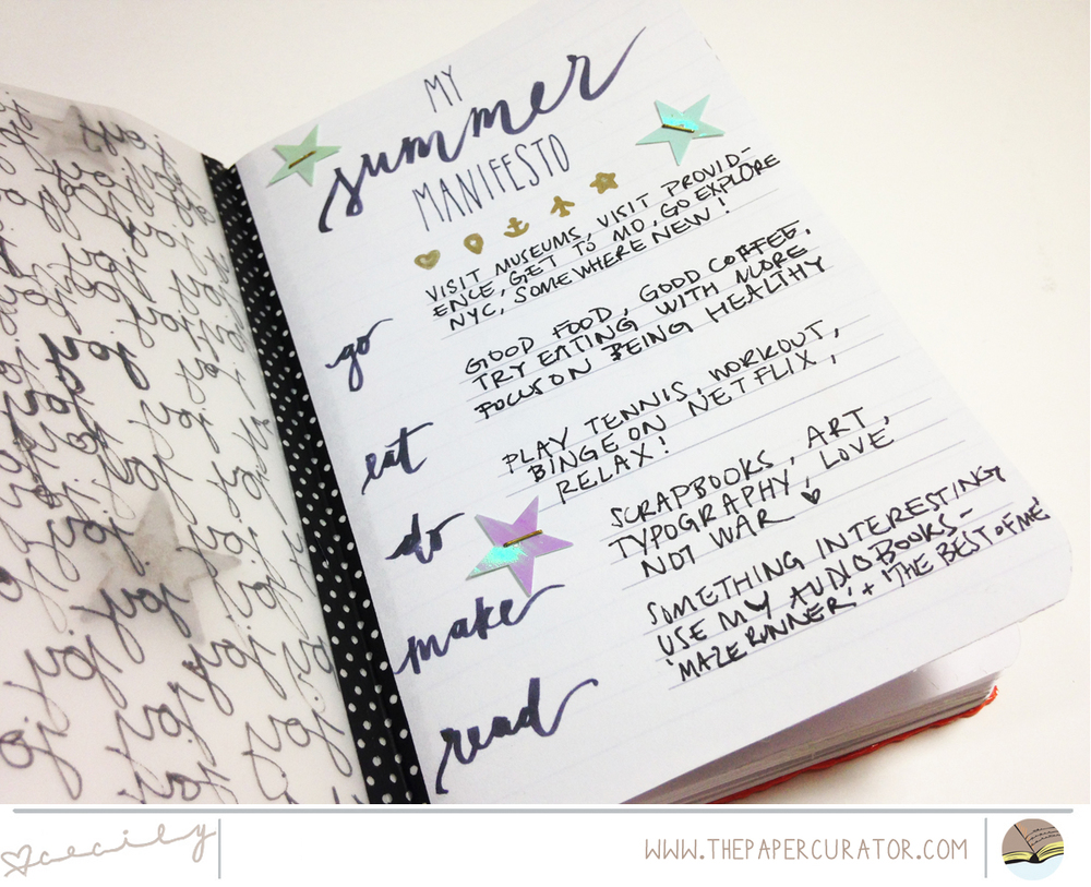 Time Saving Tips with #LittleSummerJOY Project | The Paper Curator