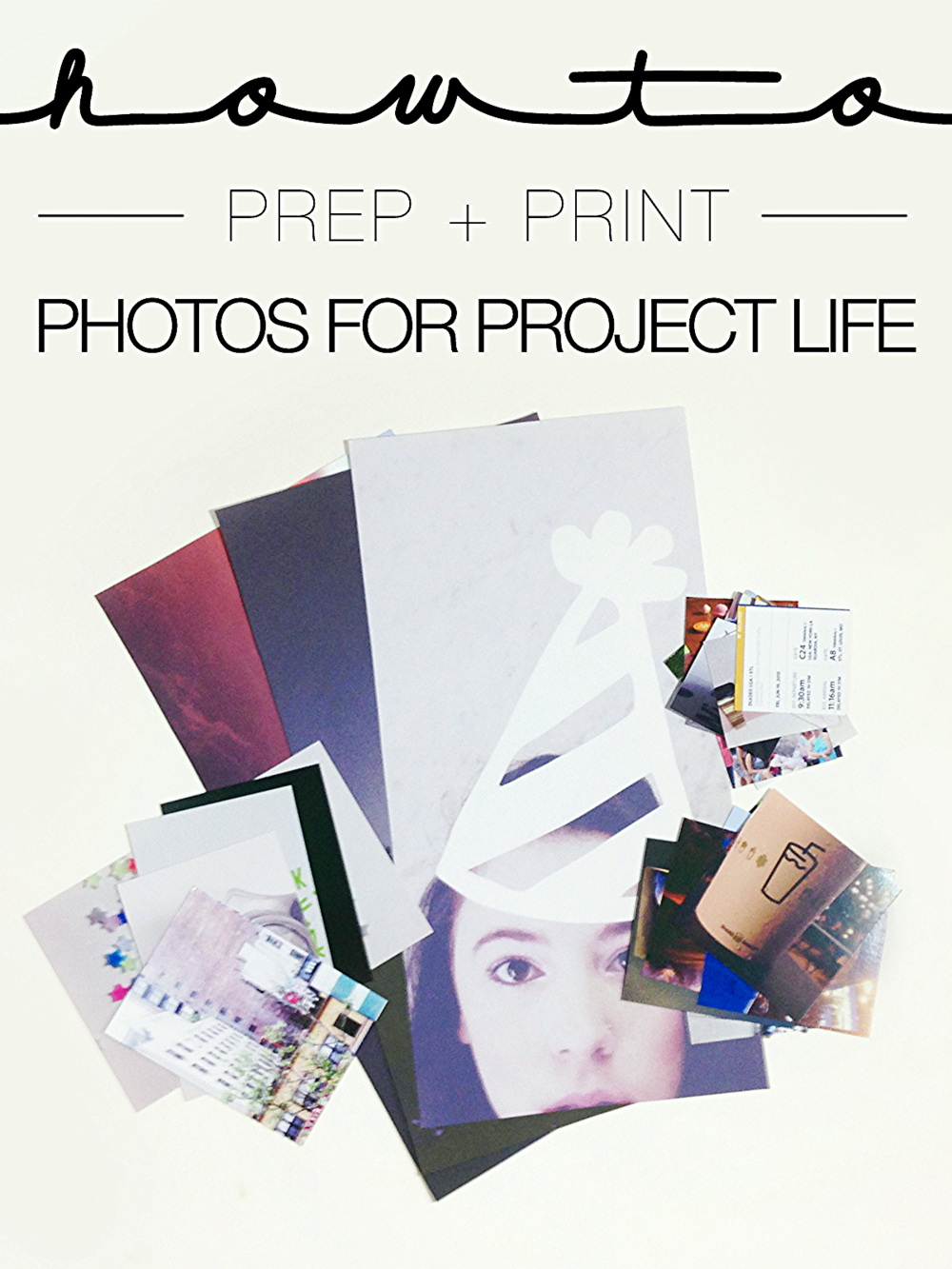 HOW TO | PREP AND PRINT PHOTOS FOR PROJECT LIFE + FREEBIES | THE PAPER CURATOR