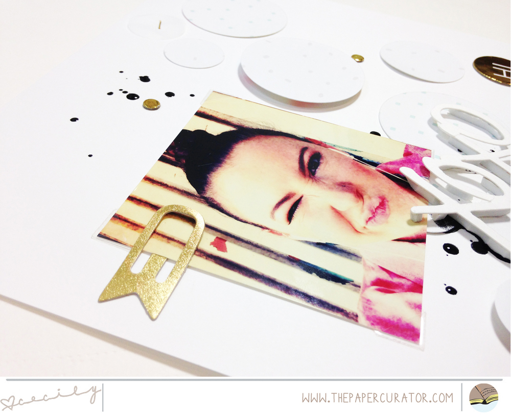 WEEKLY SKETCH WITH 'XOXO' SCRAPBOOK LAYOUT | THE PAPER CURATOR