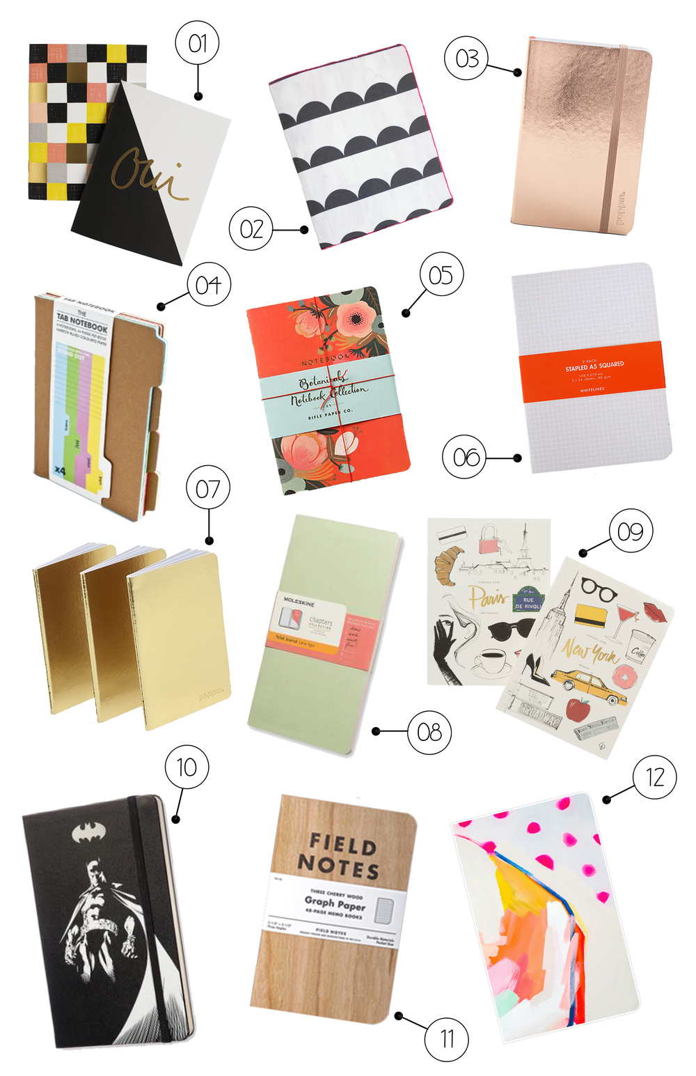 12 CHICEST NOTEBOOKS FOR BACK TO SCHOOL | THE PAPER CURATOR