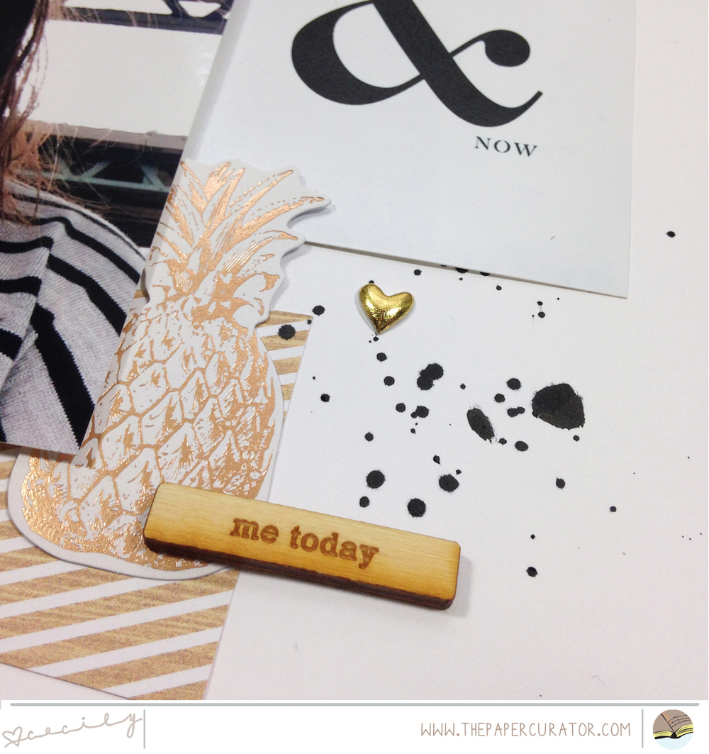 TIME SAVING TIPS WITH 'HERE & NOW' SCRAPBOOK LAYOUT | THE PAPER CURATOR