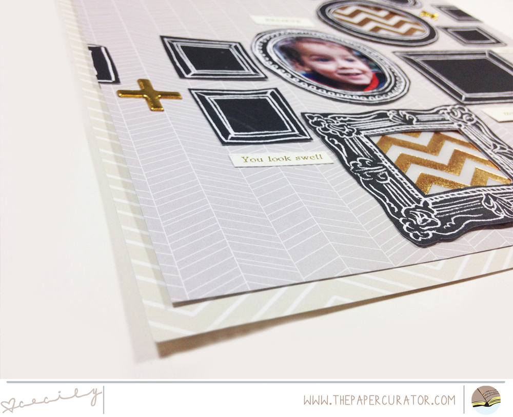 WEEKLY SCRAPBOOK SKETCH WITH SUNDAY SKETCH SERIES NO.40 | THE PAPER CURATOR