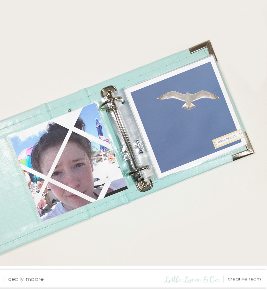FAST + FABULOUS SUMMER MINI ALBUM USING PHOTOSHOP TEMPLATES | THE PAPER CURATOR