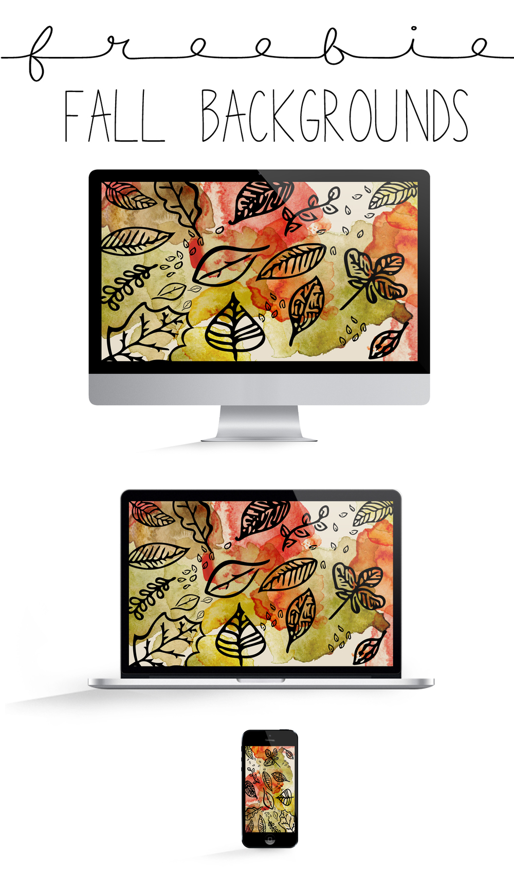 FREEBIE FALL TECHNOLOGY BACKGROUNDS | THE PAPER CURATOR