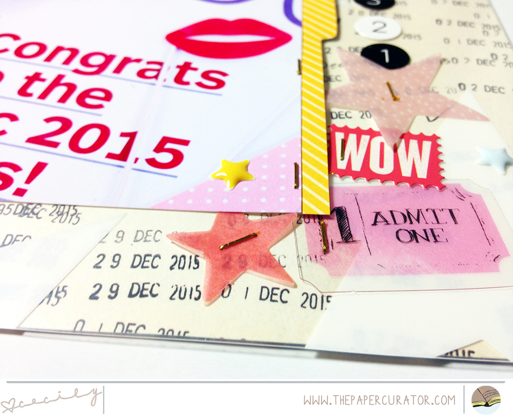 FAST + FABULOUS FRIDAY NO. 49 WITH 'CHEERS' SCRAPBOOK LAYOUT | THE PAPER CURATOR