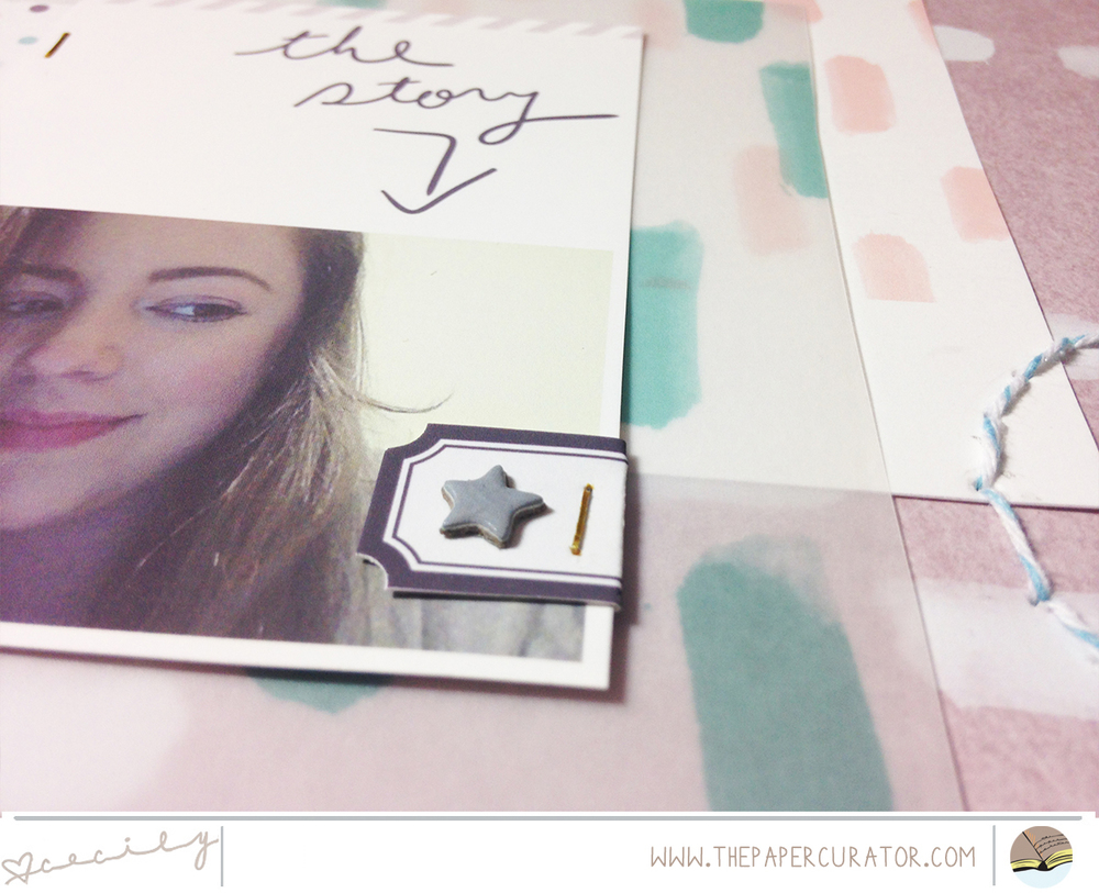 TEAL LIME PRESS HYBRID LAYOUT TITLED 'ME' | THE PAPER CURATOR