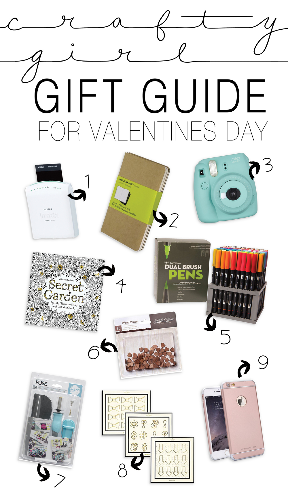 VALENTINES GIFT GUIDE FOR YOUR CRAFTY CHICK | THE PAPER CURATOR