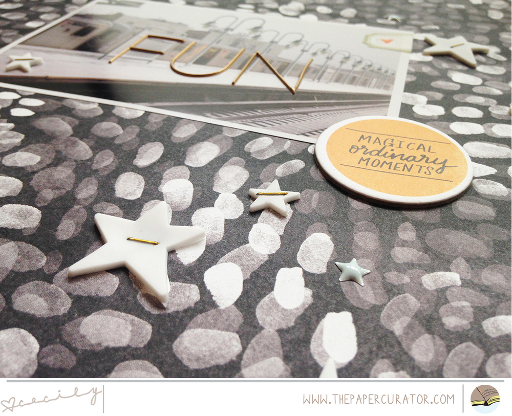 SUNDAY SKETCH SERIES NO. 49 WITH 'FUN' SCRAPBOOK LAYOUT | THE PAPER CURATOR
