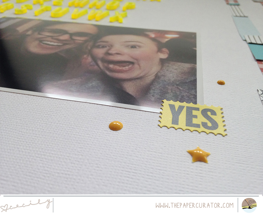 'HA' SCRAPBOOK LAYOUT | THE PAPER CURATOR