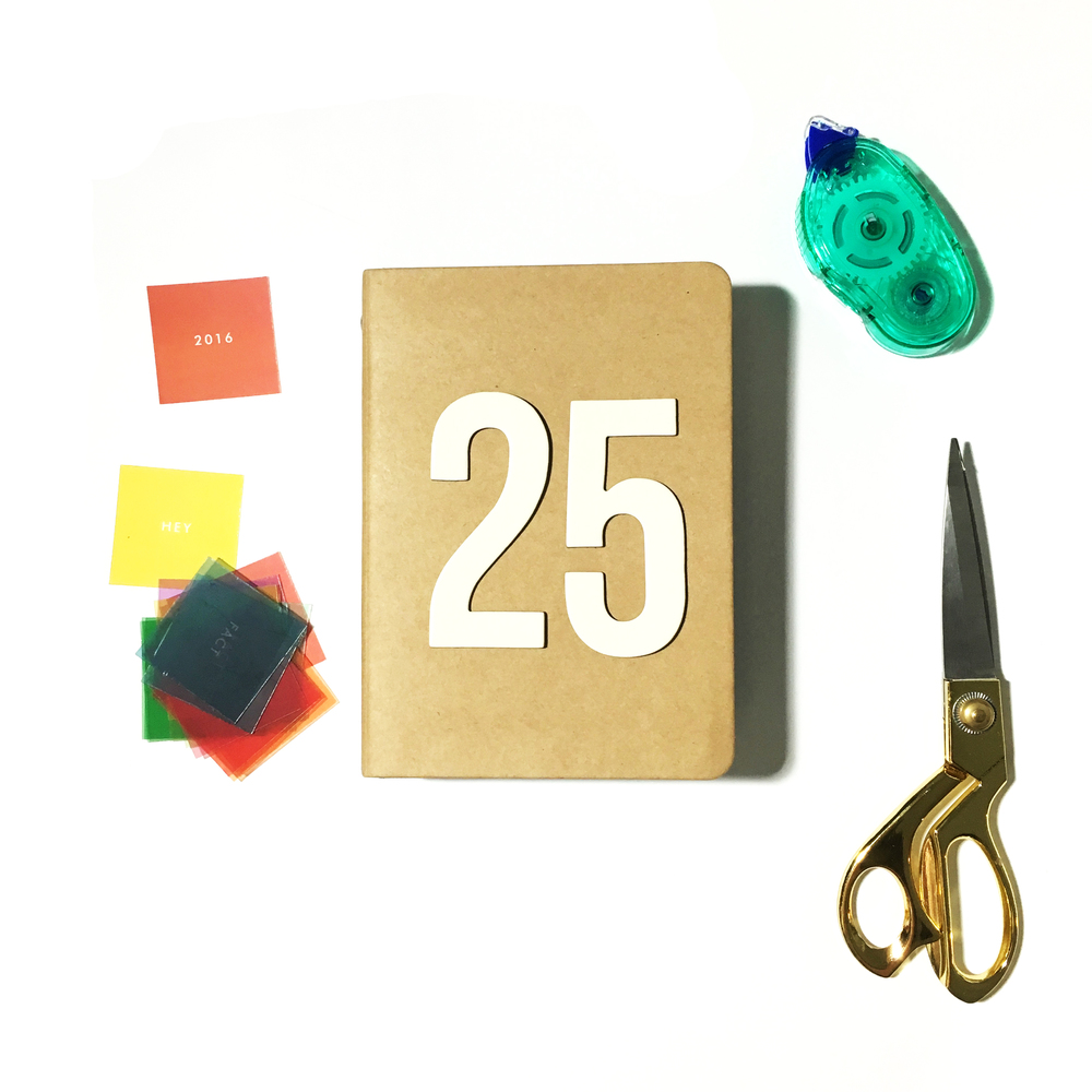 '25' Mini Album | The Paper Curator