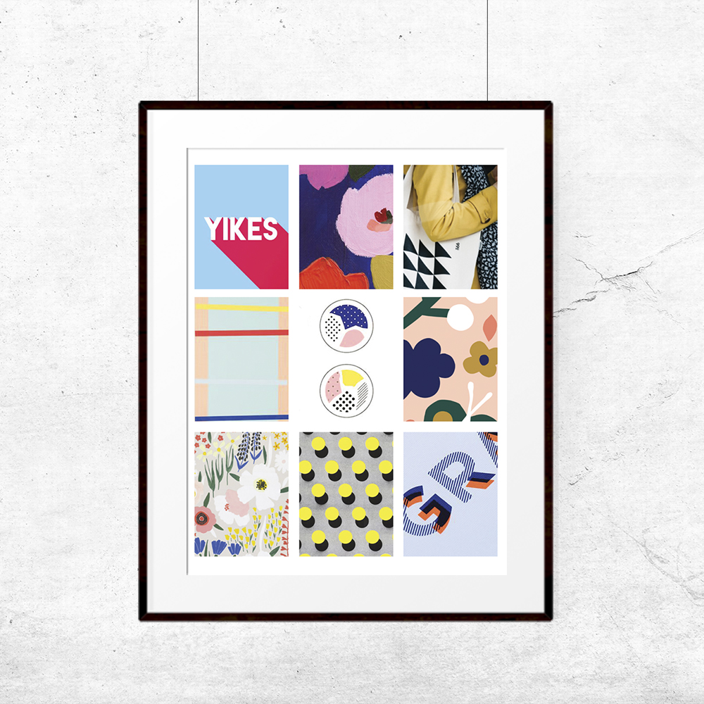 September Kit Inspiration Mood Board | The Paper Curator