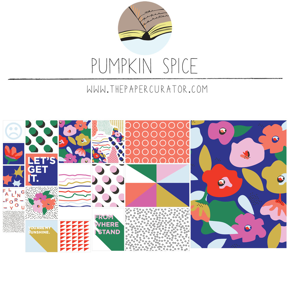 SEPTEMBER SHOP UPDATE | PUMKIN SPICE KIT | THE PAPER CURATOR