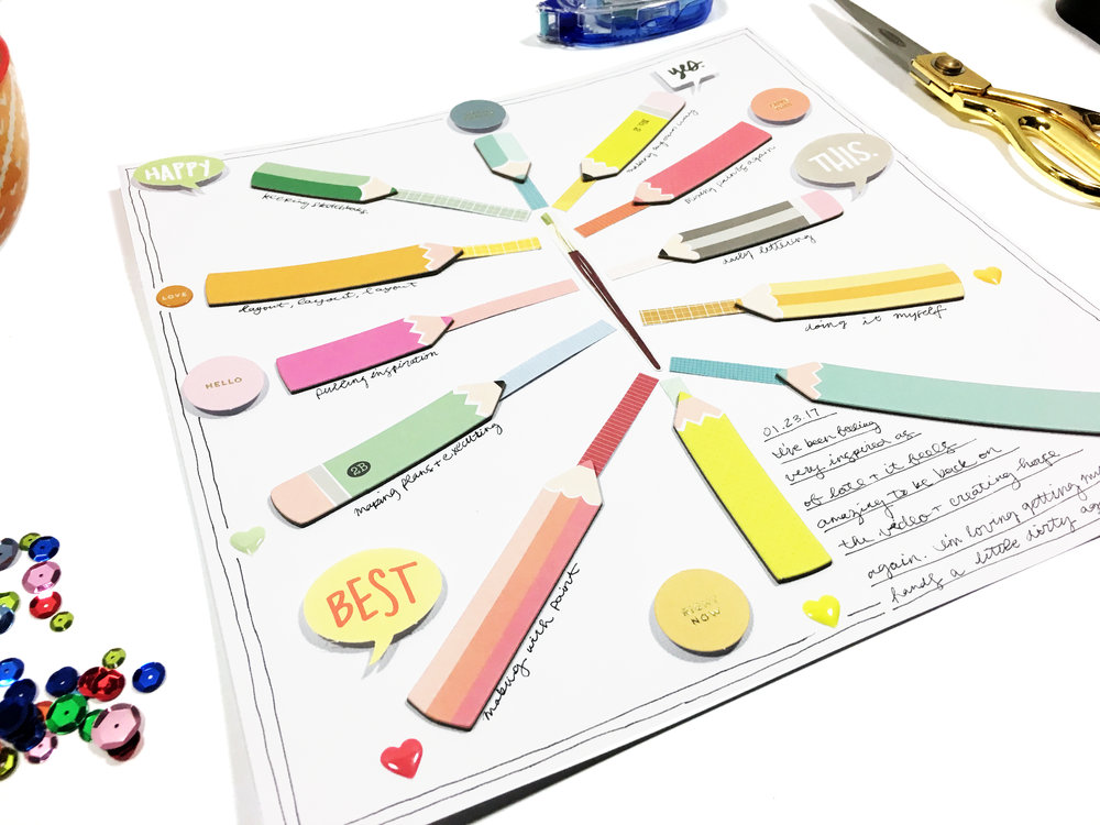 Scrapbooking Big | The Paper Curator
