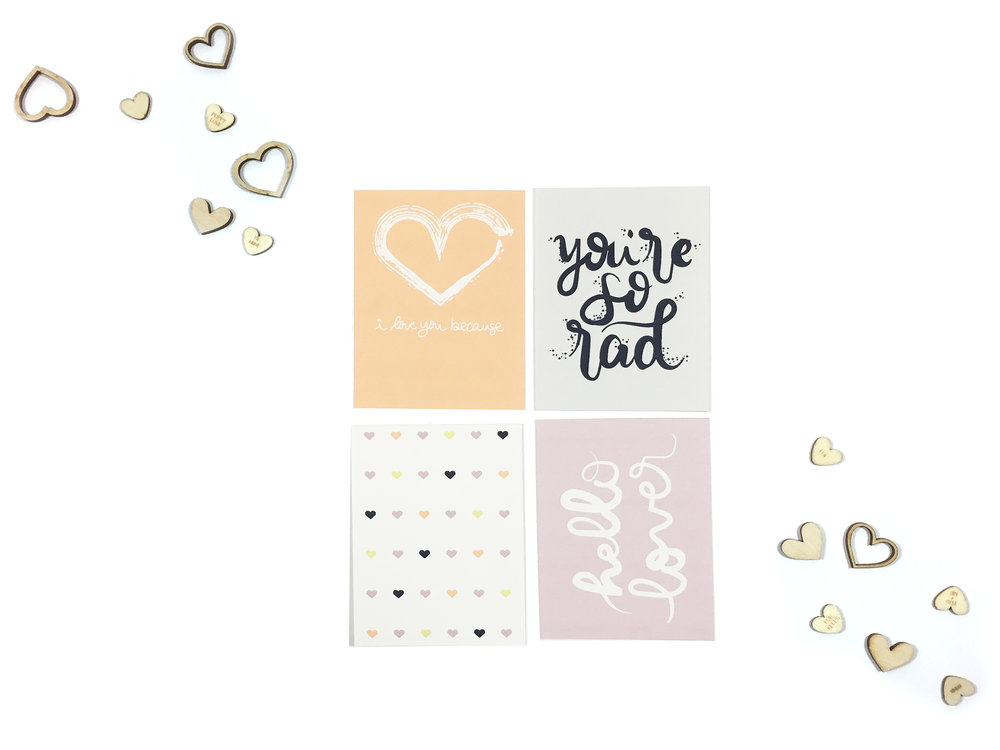 Freebie Valentines Printable Cards | The Paper Curator