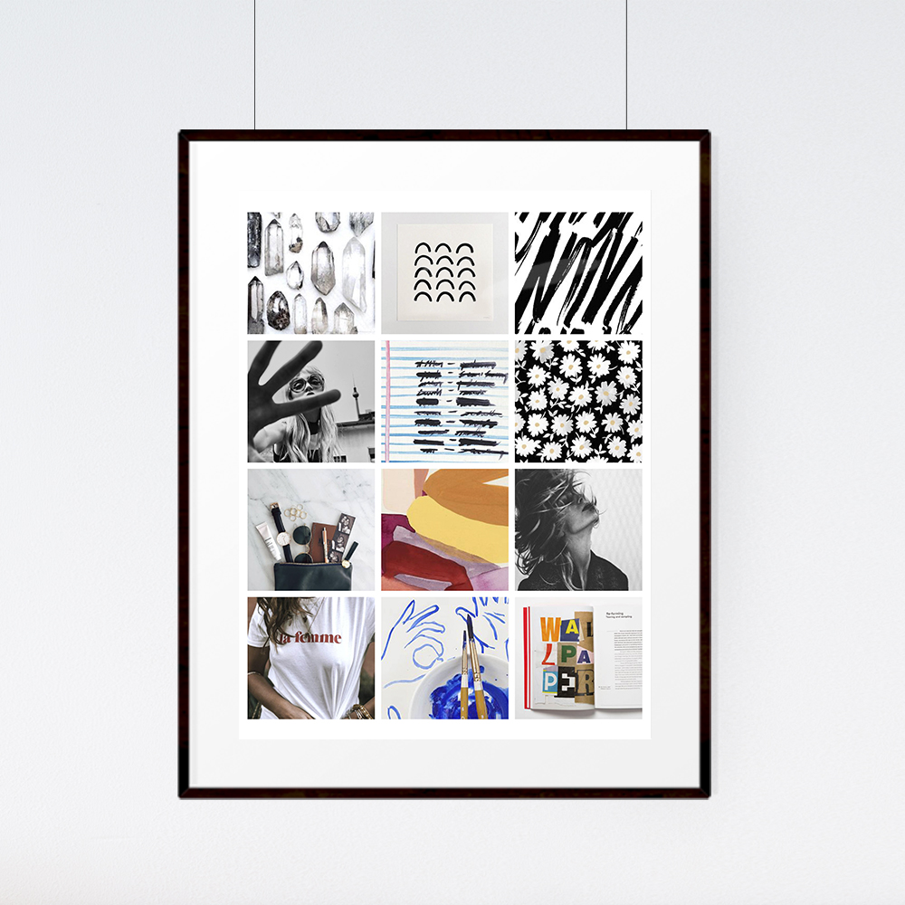 August Kit Mood Board | The Paper Curator