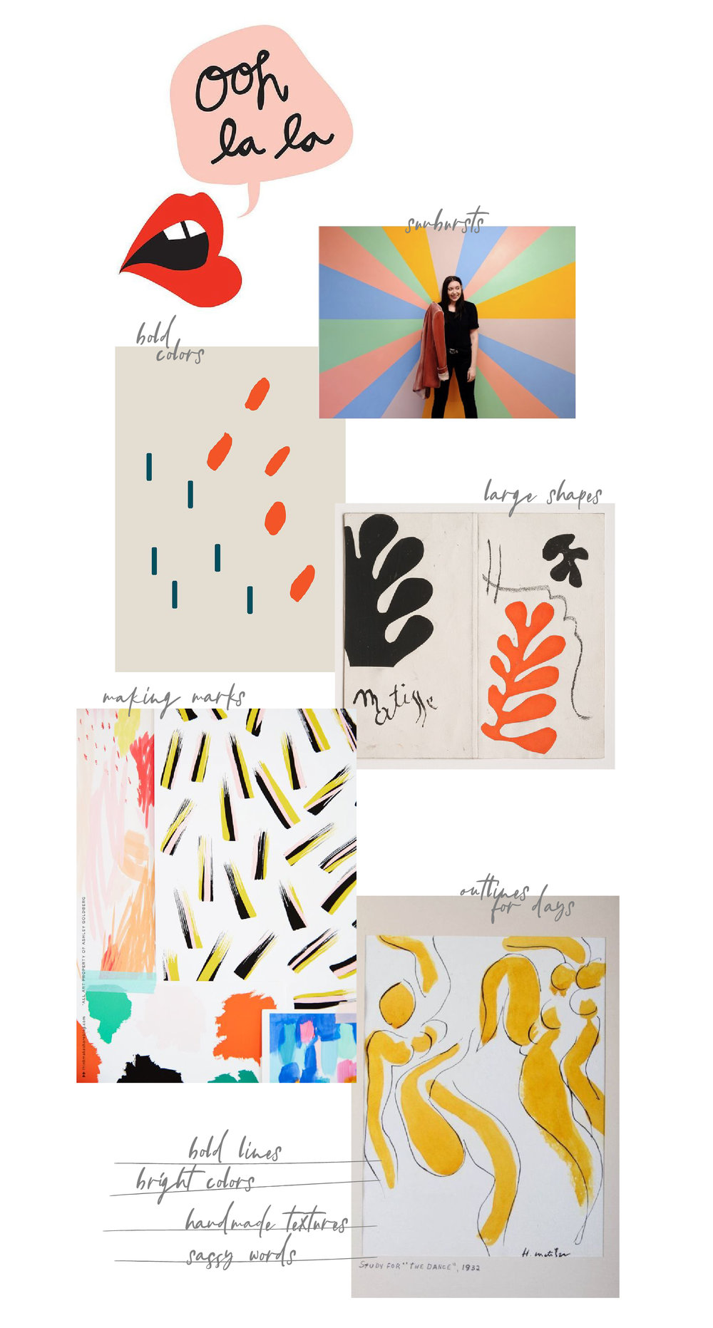 February Kit Mood Board   Inspiration by The Paper Curator
