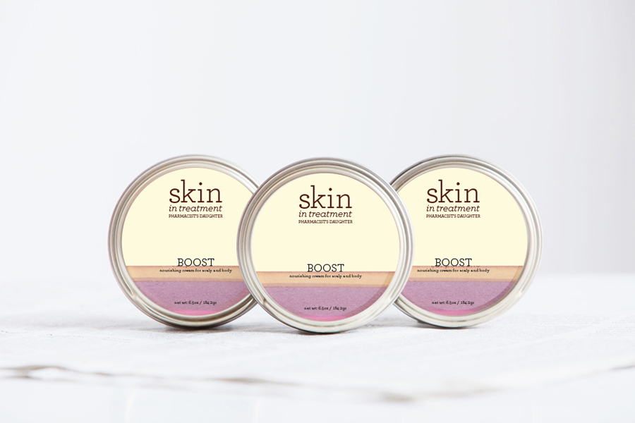 Logo and Packaging Design: Skin In Treatment