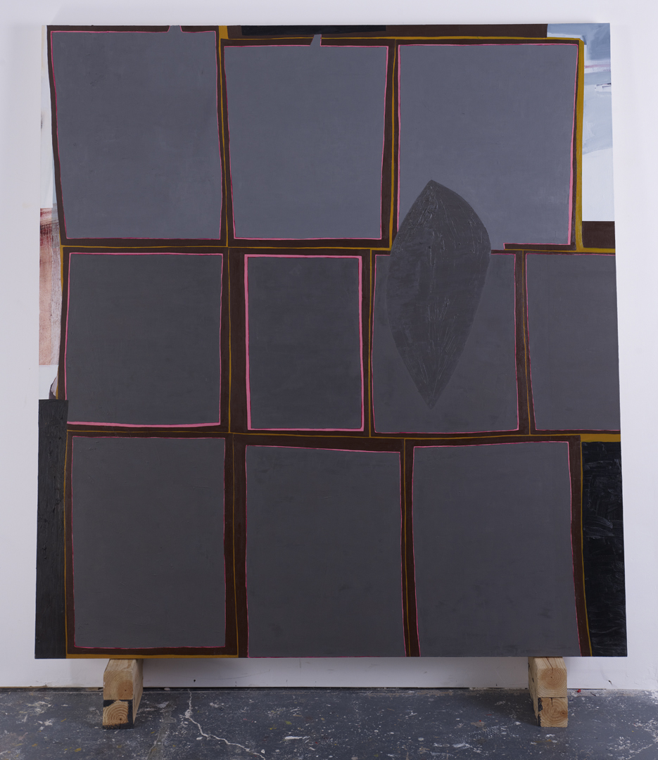 Shaker, 2011 Oil on canvas 78 x 72 inches