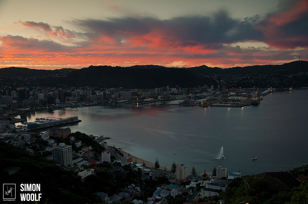 Wellington Mt Vic Red Sky_3PW0490.jpg