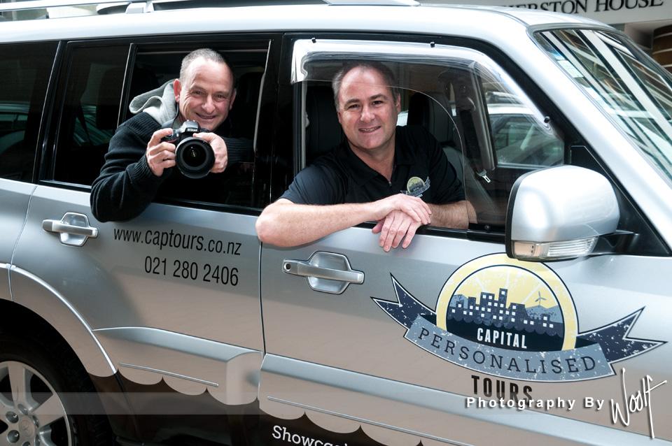 JB & Simon in car .jpg