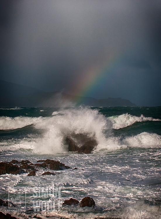 #3141, Rainbow and Wave