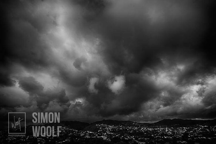 #3145, Storm over Karori