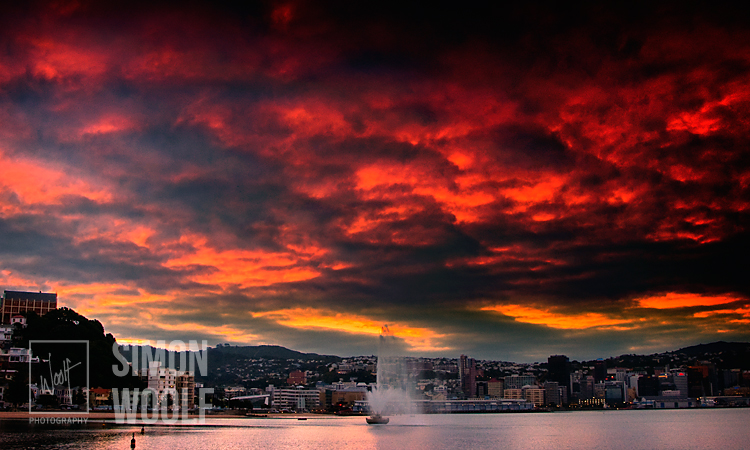 #3020-1, Red Sky Wellington