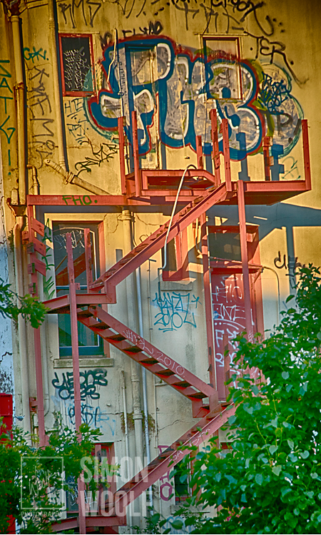 #3166, Graffitti and Steps