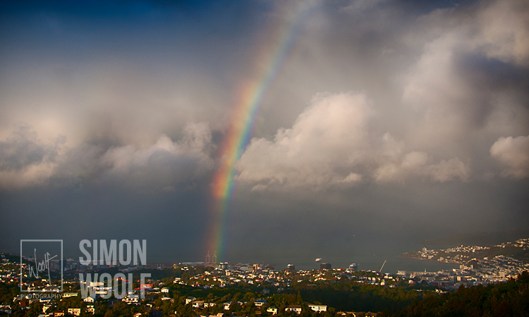 #3178, Rainbow over Wellington cont