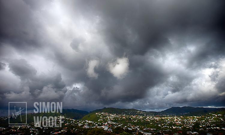 3184, Storm over Karori