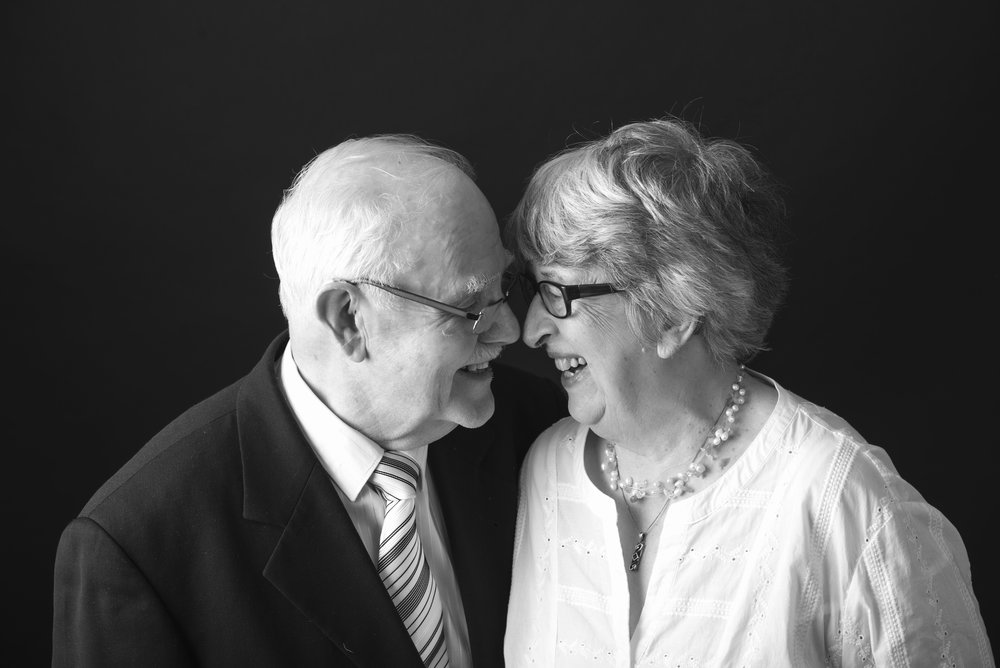 "Don and Ruth - Don and Ruth came into our studio for a series of 50th Wedding Anniversary Photos. Son Jed, who booked their appointment said. ""Mum and Dad had just the best experience. They enjoyed the session and the special attention they received. Thank you for the great communication from start to finish. The whole family just loves the photos you took!"""