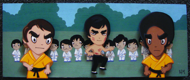 """Good vs Evil"" (Enter the Dragon)"