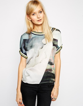 Vero Moda Abstract Top, reg $60.64, i paid $26
