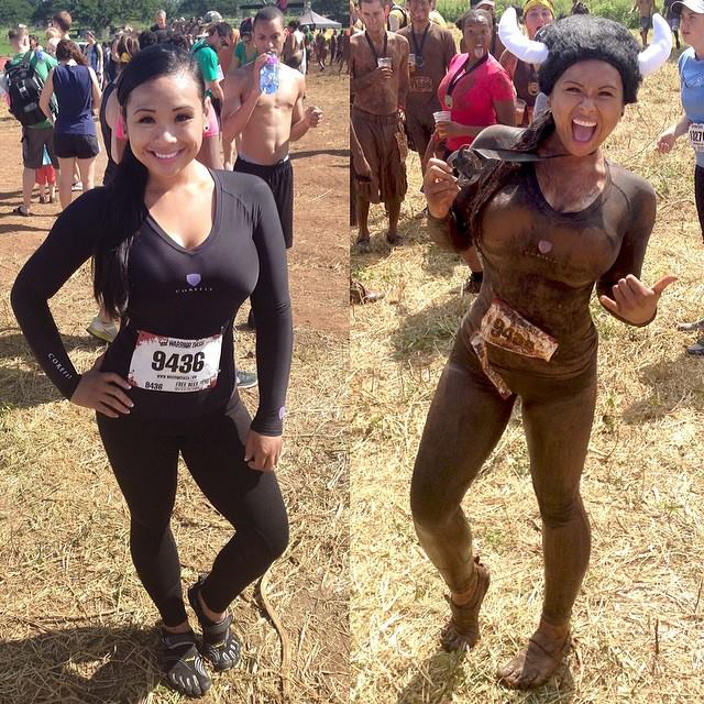 Never thought I would join a race, yet alone get down and dirty. Most fun accomplishment.