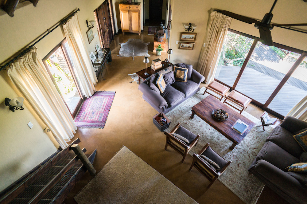Living area as seen from Loft room
