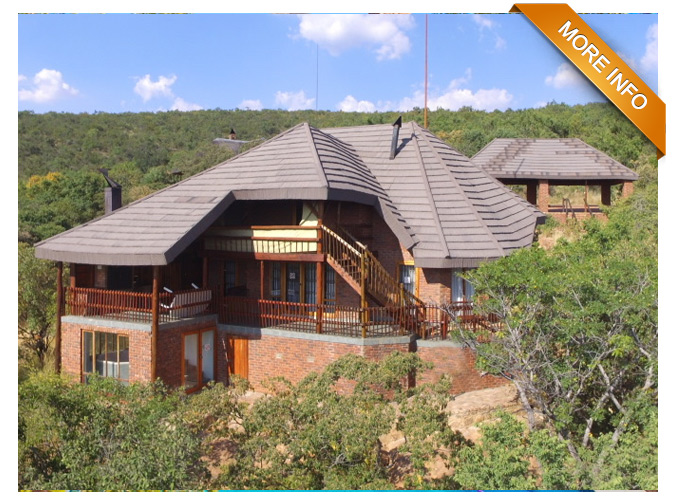 PTY091 | BUSHVELD DREAM COME TRUE   Enjoying a coveted Mabalingwe view, this well maintained home offers so much more than initially meets the eye.  Set in a quiet cup-de-sac within the desirable Mabalingwe Nature reserve, the property has unobstructive views across the Bushveld towards the Waterberg mountains.  Ideal for a young family or a couple thinking about retiring, the house itself offers two large ensuite bedrooms, all with Bushveld views and a loft that can be used as a study or a third bedroom. Your choice of living areas include a open plan family living/lounge room, including a Jetmaster fireplace, which flows into a newly revamped kitchen with ample cupboards, dishwasher and walk-in pantry. You also have a large covered double deck with built in braai overlooking the stunning Mabalingwe views.    Click to find out more       PRICE: R2 400 000