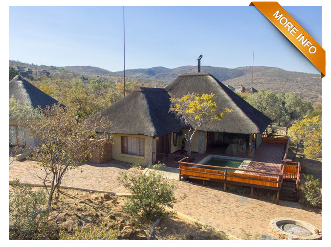 PTY106 - THE PERFECT FAMILY GETAWAY   2X Bedrooms and loft room  3x bathroom  Open plan Lounge and Kitchen and scullery  Deck with swimmingpool  Covered Parking for 2 vehicles  Boma  Large Separate Cottage with lounge, bathroom and loft room   Price: R2 900 000