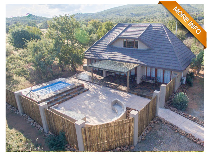 PTY109 - NEWLY RENOVATED FAMILY GETAWAY   3 Double Bedrooms  Open plan Lounge and Kitchen  Seperate Boma with braai pit  Parking  Close to Mabalingwe Pools  Children entertainment nearby   PRICE: R1 950 000