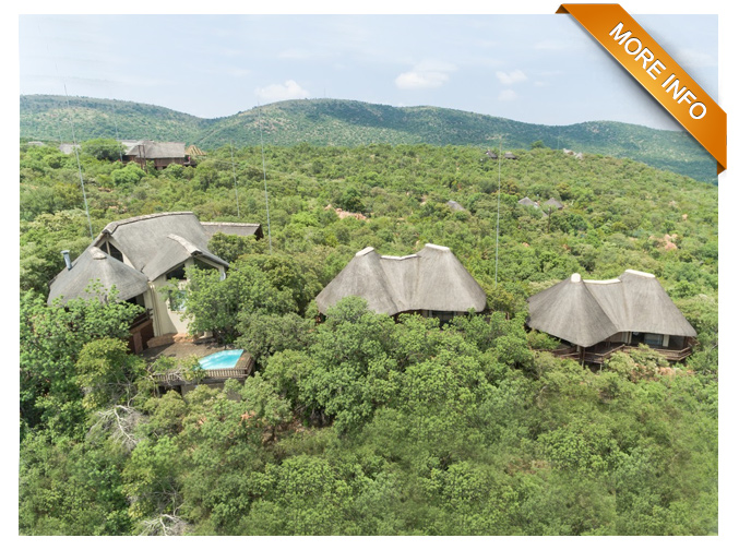 PTY115 | Enjoy the views in complete luxury   Enjoying your favourite drink while watching the sun set over the Mabalingwe Reserve  Outdoor living at it's best, large deck with swimming pool and entertainment area that includes a fire pit  Large kitchen leads into large open plan dining and lounge area.  Fantastic bar that opens up to the outside  For the chef in you there is also an outside cooking area  4 large ensuite bedrooms with breathtaking views  Large bathrooms feature showers and bathrooms allowing you to enjoy the view   PRICE: R5 300 000